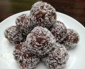 Hälsosamma och jätte goda chokladbollar