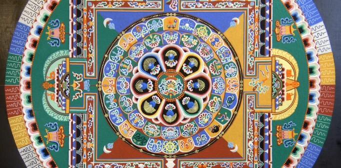 Den magiska Mandalan – Info om hur du skapar, använder, mediterar, vägleder och höjer ditt medvetande med mandalans hjälp.