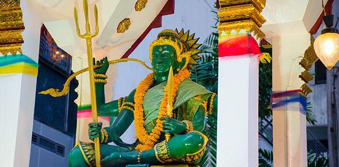 Indra - Åskans och stormarnas gud