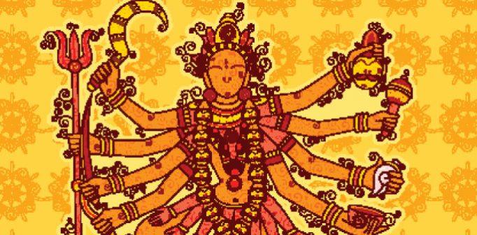 Kali - Dödens, tidens och domedagens gudinna