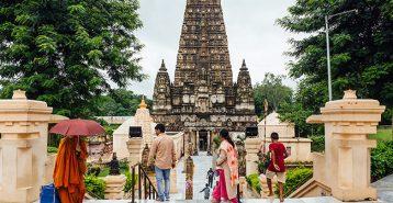 Templet Mahabodhi - det var här som Siddharta blev Buddha