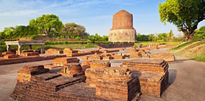 Den heliga staden Varanasi