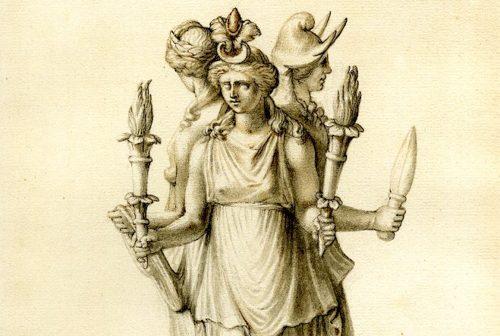 Hekate – häxkonstens, spådomens och månens gudinna